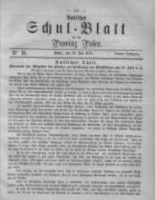 Amtliches Schul-Blatt für die Provinz Posen 1870.07.30 Jg.3 Nr16