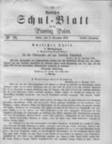 Amtliches Schul-Blatt für die Provinz Posen 1870.12.31 Jg.3 Nr26
