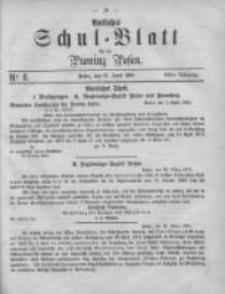 Amtliches Schul-Blatt für die Provinz Posen 1875.04.17 Jg.8 Nr8