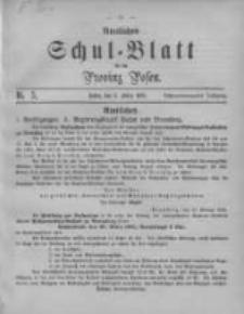 Amtliches Schul-Blatt für die Provinz Posen 1895.03.05 Jg.28 Nr5