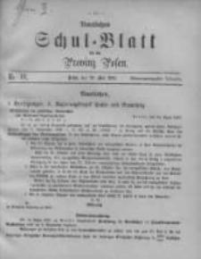 Amtliches Schul-Blatt für die Provinz Posen 1895.05.20 Jg.28 Nr10