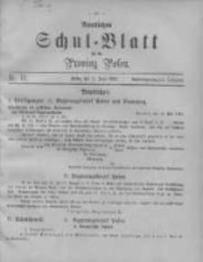 Amtliches Schul-Blatt für die Provinz Posen 1895.06.05 Jg.28 Nr11