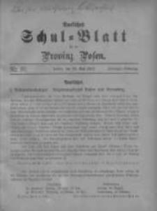 Amtliches Schul-Blatt für die Provinz Posen 1917.05.20 Jg.50 Nr10