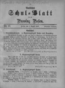 Amtliches Schul-Blatt für die Provinz Posen 1917.08.05 Jg.50 Nr15