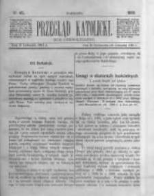 Przegląd Katolicki. 1881.11.10 R.19 nr45