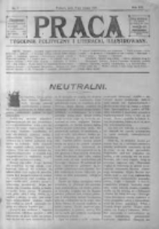 Praca: tygodnik polityczny i literacki, illustrowany. 1917.02.18 R.21 nr7