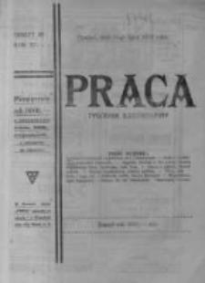 Praca: ilustrowany tygodnik popularny, poświęcony nauce - literaturze - sztuce - sprawom społecznym - godziwej rozrywce. 1923.07.15 R.27 nr28