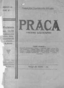Praca: ilustrowany tygodnik popularny, poświęcony nauce - literaturze - sztuce - sprawom społecznym - godziwej rozrywce. 1923.10.14 R.27 nr41