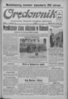 Orędownik: ilustrowany dziennik narodowy i katolicki 1937.03.14 R.67 Nr61
