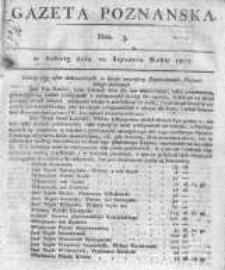 Gazeta Poznańska 1807.01.10 Nr3