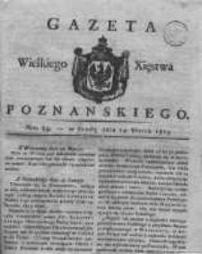 Gazeta Wielkiego Xięstwa Poznańskiego 1819.03.24 Nr24
