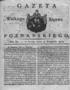 Gazeta Wielkiego Xięstwa Poznańskiego 1819.08.04 Nr62