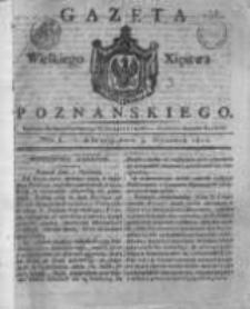 Gazeta Wielkiego Xięstwa Poznańskiego 1821.01.03 Nr1