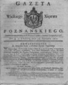 Gazeta Wielkiego Xięstwa Poznańskiego 1821.01.13 Nr4