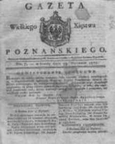 Gazeta Wielkiego Xięstwa Poznańskiego 1821.01.24 Nr7