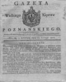 Gazeta Wielkiego Xięstwa Poznańskiego 1821.02.17 Nr14