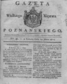 Gazeta Wielkiego Xięstwa Poznańskiego 1821.05.19 Nr40