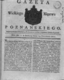 Gazeta Wielkiego Xięstwa Poznańskiego 1821.06.23 Nr50