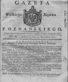 Gazeta Wielkiego Xięstwa Poznańskiego 1821.09.22 Nr76