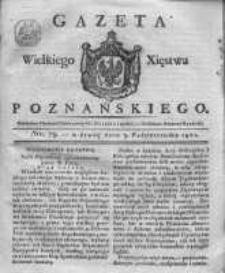Gazeta Wielkiego Xięstwa Poznańskiego 1821.10.03 Nr79
