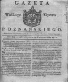 Gazeta Wielkiego Xięstwa Poznańskiego 1821.10.24 Nr85