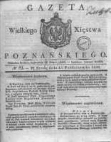 Gazeta Wielkiego Xięstwa Poznańskiego 1830.10.13 Nr82