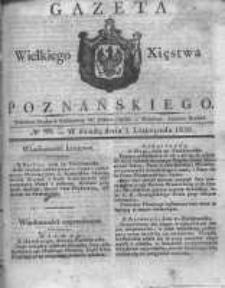 Gazeta Wielkiego Xięstwa Poznańskiego 1830.11.03 Nr88