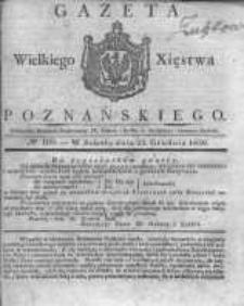 Gazeta Wielkiego Xięstwa Poznańskiego 1830.12.25 Nr103