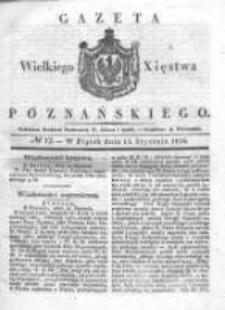Gazeta Wielkiego Xięstwa Poznańskiego 1836.01.15 Nr12