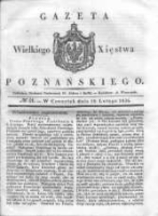 Gazeta Wielkiego Xięstwa Poznańskiego 1836.02.18 Nr41