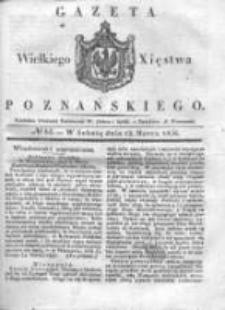 Gazeta Wielkiego Xięstwa Poznańskiego 1836.03.12 Nr61