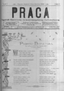 Praca: tygodnik illustrowany, ekonomiczno-społeczny i belletrystyczny dla wszystkich stanów. 1900.01.21 R.4 nr4