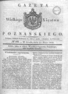 Gazeta Wielkiego Xięstwa Poznańskiego 1836.05.11 Nr109