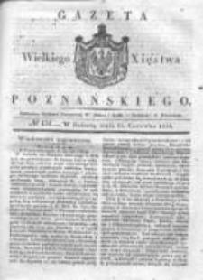 Gazeta Wielkiego Xięstwa Poznańskiego 1836.06.11 Nr134