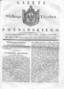Gazeta Wielkiego Xięstwa Poznańskiego 1836.06.20 Nr141