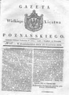 Gazeta Wielkiego Xięstwa Poznańskiego 1836.06.27 Nr147
