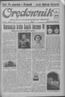Orędownik: ilustrowany dziennik narodowy i katolicki 1937.05.13 R.67 Nr109