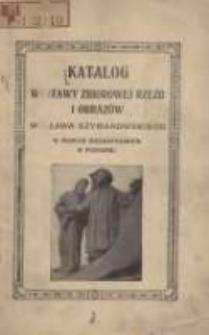 Katalog Wystawy Zbiorowej Rzeźb i Obrazów Wacława Szymanowskiego w Muzeum Wielkopolskim w Poznaniu