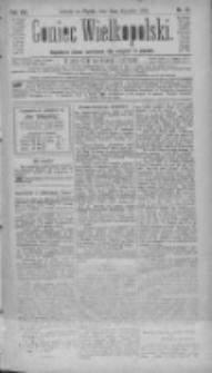 Goniec Wielkopolski: najtańsze pismo codzienne dla wszystkich stanów 1884.01.18 R.8 Nr15