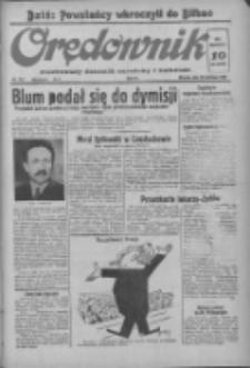Orędownik: ilustrowany dziennik narodowy i katolicki 1937.06.22 R.67 Nr141