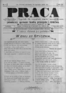 Praca: tygodnik dla wszystkich stanów, poświęcony sprawom handlu, przemysłu i rolnictwa. 1898.01.30 R.3 nr5