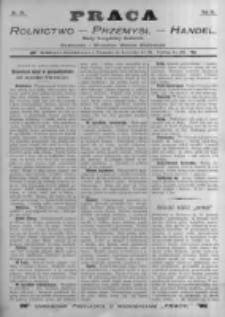 Praca: tygodnik dla wszystkich stanów, poświęcony sprawom handlu, przemysłu i rolnictwa. 1898.06.12 R.3 nr24