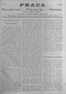 Praca: tygodnik illustrowany, ekonomiczno-społeczny i belletrystyczny dla wszystkich stanów. 1898.10.23 R.3 nr43