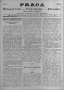 Praca: tygodnik illustrowany, ekonomiczno-społeczny i belletrystyczny dla wszystkich stanów. 1898.11.27 R.3 nr48