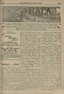 Praca: tygodnik illustrowany. 1901.10.20 R.5 nr42