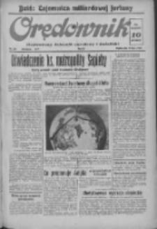 Orędownik: ilustrowany dziennik narodowy i katolicki 1937.07.16 R.67 Nr161