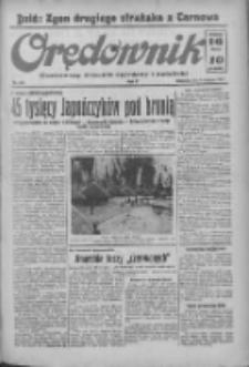 Orędownik: ilustrowany dziennik narodowy i katolicki 1937.08.08 R.67 Nr181