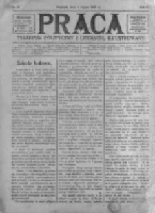 Praca: tygodnik polityczny i literacki, illustrowany. 1907.07.07 R.11 nr27