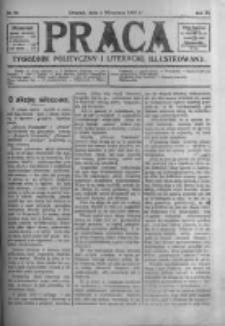Praca: tygodnik polityczny i literacki, illustrowany. 1907.09.01 R.11 nr35