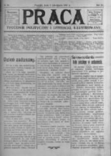 Praca: tygodnik polityczny i literacki, illustrowany. 1907.11.03 R.11 nr44